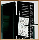 Lindner 2099 Phila-Combi-Box, Perforation Gauge