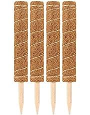 Prevessel Mosstokken voor klimplanten - Plantensteun Stakes Kokosmos Sticks Plant Trellis voor Indoor Outdoor Klimplanten