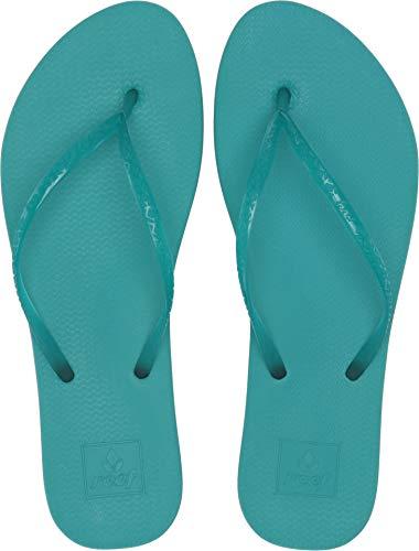 Reef Women's Escape Lux Flip-Flop Sandals, Turquoise (TRQSE/TUR), 9