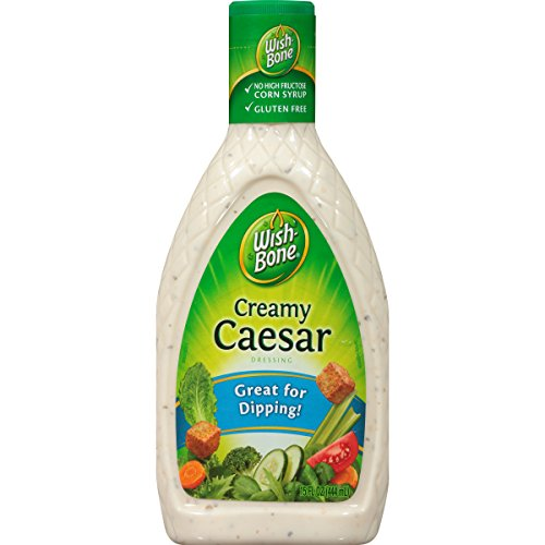 Creamy Parmesan Dressing (Wish-Bone Salad Dressing, Creamy Caesar, 15 Ounce)