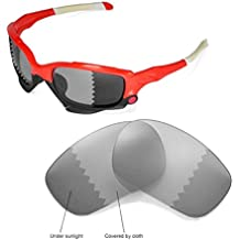 Walleva Replacement Lenses for Oakley Jawbone Sunglasses - 16 Options Available