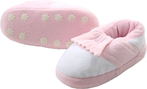 ProActive Sports Soft Padded Golf Shoe Slippers, Pink/White, Children's X-Small