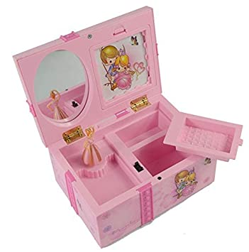 MENGYANLI Caja de música para Viernes Negro Caja de música Dream Girl Caja de joyería Infantil
