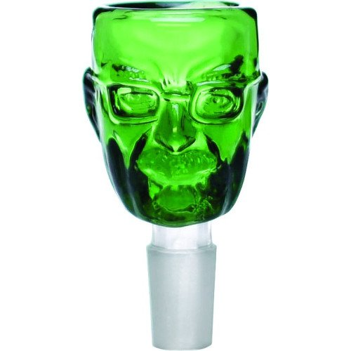 SCIENTIFIC-SUPPLIES-12-1476-BOWL-ANGRY-FACE-MAN-GREEN-14MM
