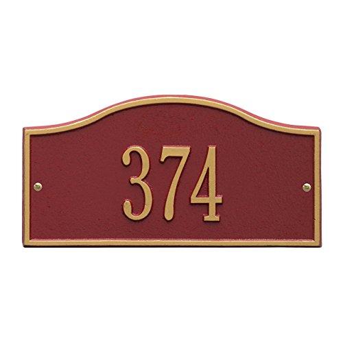 Whitehall 1 Line (Rolling Hills 1 Line Address Plaque 12