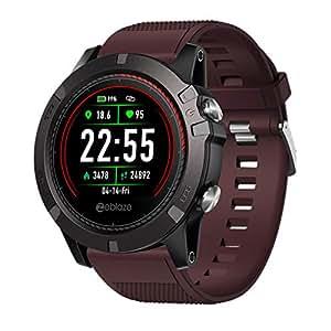 Beisoug Zeblaze Vibe 3 ECG Reloj Inteligente Monitor de Ritmo ...