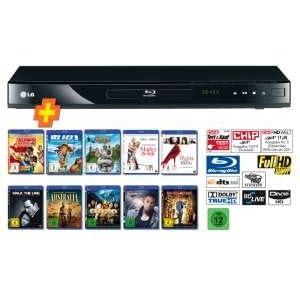 LG BD-550 + 10-Blu-ray-Disc Bundle