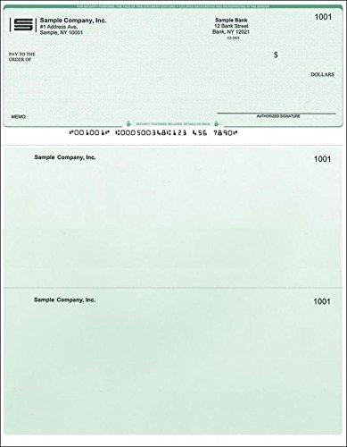 500-printed-laser-computer-voucher-checks-compatible-with-quickbooks-green-diamond