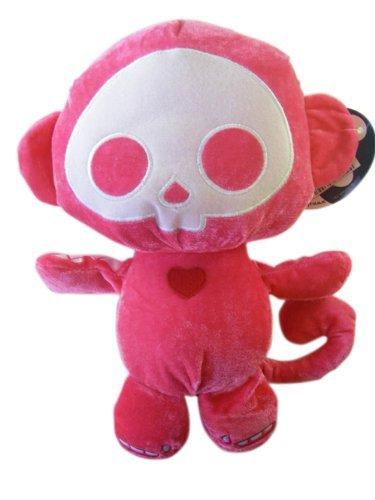 Skelanimals Marcy Monkey - Skelanimals Plush - MARCY the Pink Monkey (13 inch)