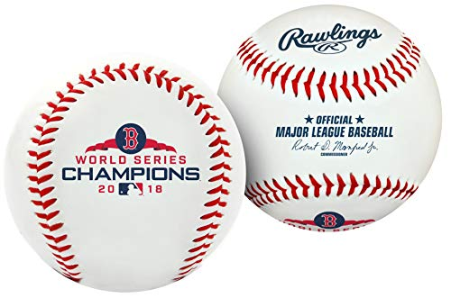 Rawlings 2018 MLB World Series Boston Red Sox Champions Collectible Souvenir Replica ()