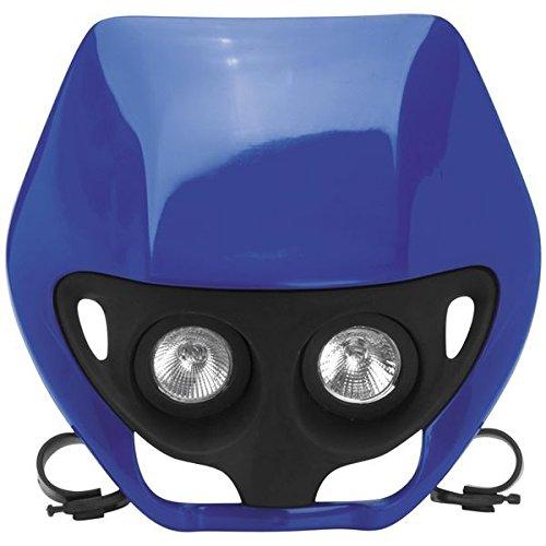 ユーフォープラスト UFO PLAST デュアル レンズ ヘッドライト 青 115457 PF01688-089 B01N1GN9SF