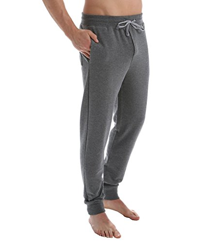 Dockers Terry - Dockers Men's French Terry Lounge Jogger Pant, Heather Charcoal, Medium