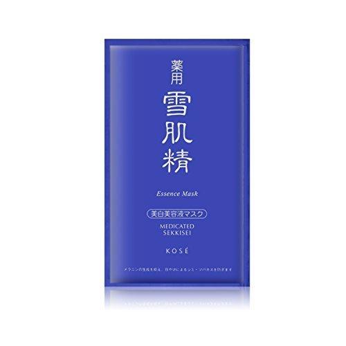 Kose Medicated Sekkisei Essence Mask 6x24ml by Kose (Essence Sekkisei Kose)
