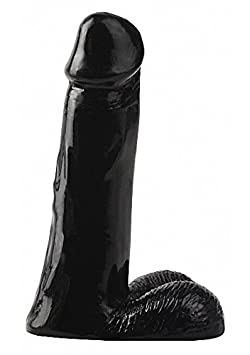 Basix Rubber Works 8-Inch Dong, Black