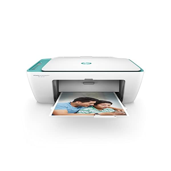 HP DeskJet 2677 All-in-One Printer (White) with Voice-Activated Printing (Works with Alexa and Google Assistant) 1