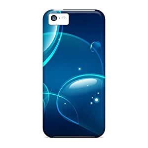 Tpu Case For Iphone 5c With Abstraction Drawing
