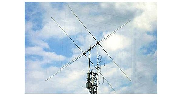 Quad Cubical Antena 2 Elementos 20/15/15/12/14 10 m/17/21 ...