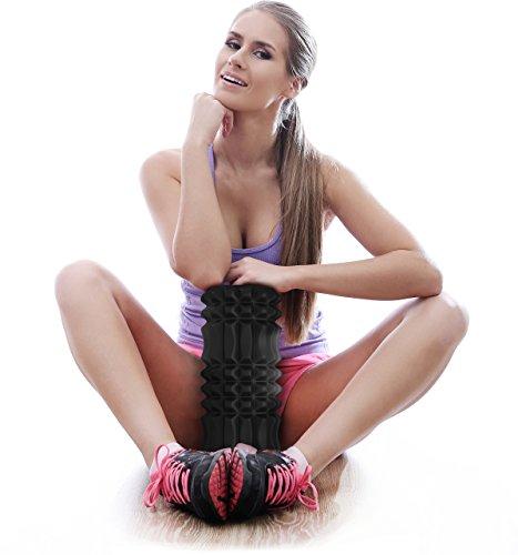 Foam-Roller-for-Best-Muscle-Massage-Deep-Tissue-Trigger-Roll-Stretch-Tool-1-Year-Warranty