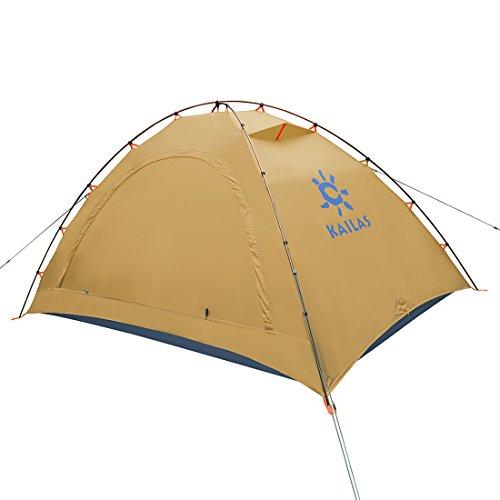 - KAILAS Zenith II Camping Tent 4 Season 2 Person (Inca Yellow)