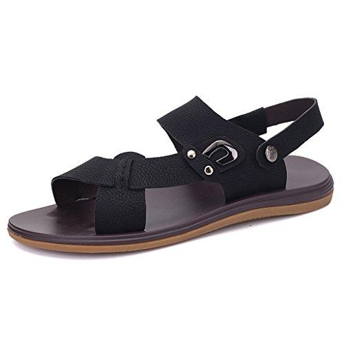 Slide Sandal Herren Freizeit Offene Sandalen Outdoor Sommer Strand Pantolette Schuhe Schwarz 37 Eagsouni Gut Verkaufen Verkauf Online Bester Online-Verkauf Spielraum Mode-Stil y3KjvFA