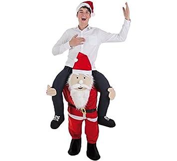 Disfraz de Papa Noel a Hombros para Adultos: Amazon.es ...