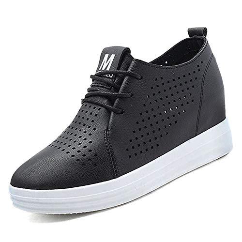 zapatos Tacón Blanco Zapatillas Punta Verano Negro De De Mujer Negro Verano  De 4f4b9e 8543a80947d