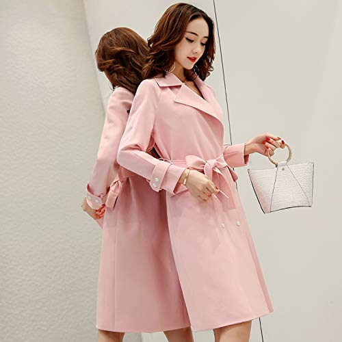 Pink amp; Tether Windbreaker Jackets Jacket Coats Women'S Taxi nbsp;Female Long Women'S Autumn Stylish SCOATWWH 6nUHPqx