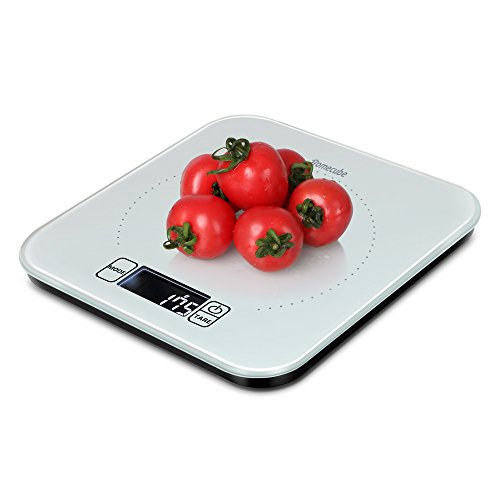 Digital Food Scale, Homecube Big Range 33lbs/15kgs Touch Screen Kitchen Food Scale Multifunctional High Precision Weighing Scale With LED Display