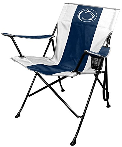 Folding Tailgating Tailgate Chair (NCAA Portable Folding Tailgate Chair with Cup Holder and Carrying Case)