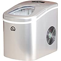 Igloo Ice108 Compact Ice Maker , Silver (Certified Refurbished)