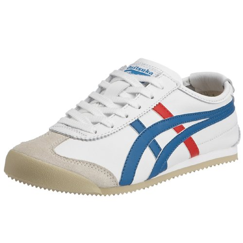 Onitsuka Tiger Mexiko 66 Fashion Sneaker Weiß Blau