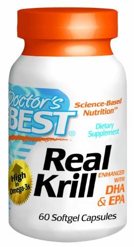 Meilleur réel Krill renforcée du médecin avec le DHA et l'EPA, 60-Count
