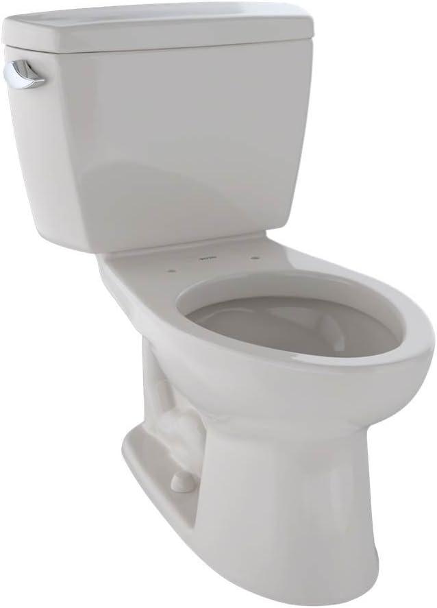 TOTO CST744E#12 Eco Drake Two-Piece Elongated 1.28 GPF Toilet Sedona Beige