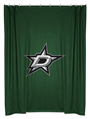Dallas Stars Drapes (NHL Dallas Stars Shower Curtain)