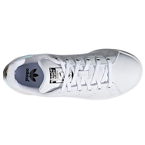 Mujer Zapatillas Para Stan White Adidas Tenis Smith silver Blancas Sneaker AH1ZAwnrq