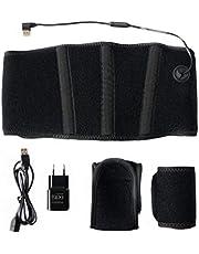 Thermrup Afstandsbediening infrarood (FIR) warmtegordel - USB-voeding (powerbank en voeding) verwarmbare riem (medische kwaliteit) met 3-traps temperatuurregeling