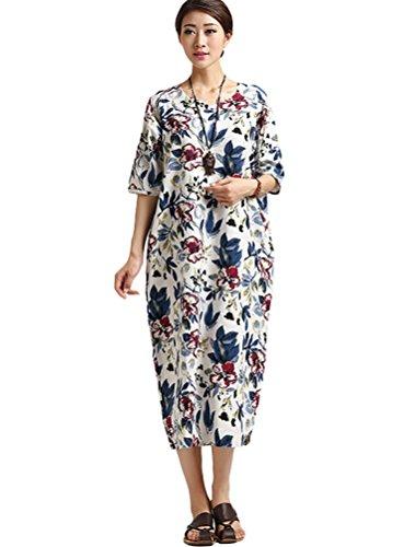 MatchLife - Vestido - vestido - para mujer azul oscuro