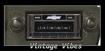 1973-1988 Chevrolet Pickup Truck Custom Autosound USA-230 AM FM Stereo Radio 200 watts