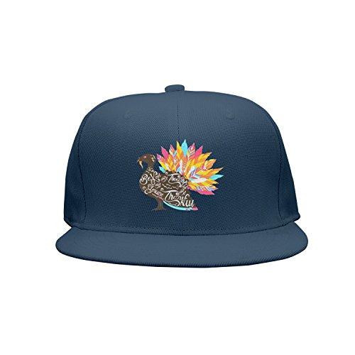Plain Gravy Boat - Kijhsaa Be Kind Be Thankful Thanksgiving Turkey Unisex Classic Back Plain Caps Snapback Hat
