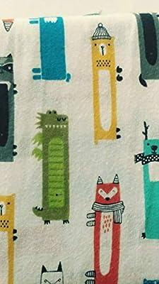 Pillowfort Critter Convention Queen Sheet Set