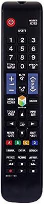 121AV - Mando a Distancia de Repuesto para Samsung UE43J5600 UE43J5600AK UE43J5600AW UE43J5605AK UE43J5670SU Smart LED Televisores: Amazon.es: Electrónica