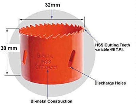 Knightsbridge 32mm Bi-metal Holesaw