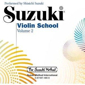 Suzuki Violin School, Volume 2 (CD) [Audio CD] [1999] Shinichi Suzuki