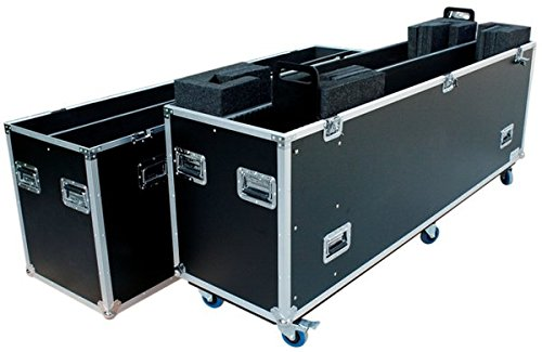 DEEJAYLED Two Way Radio Case for 2 80'' 90'' LED Television - TBH2LED90WHEELS by Deejay LED (Image #1)