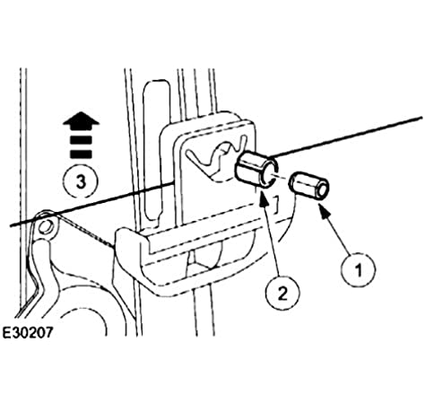 Amazon Com Regulatorfix Window Regulator Repair Peg And Dowel 1 Ea For Rear Window Golf Jetta Passat Ford Focus Jaguar Automotive