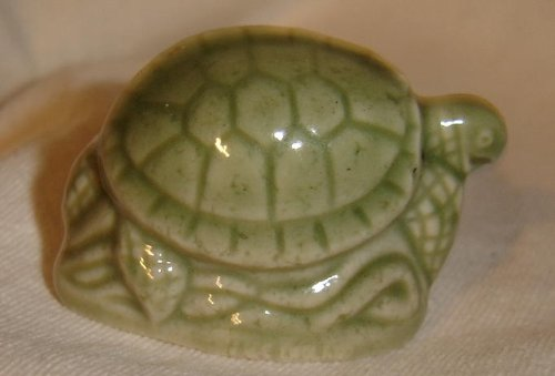 Wade Green Sea Turtle from England (Wade England Red Rose Tea)