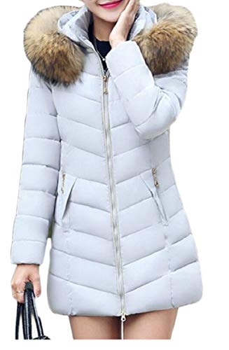 Down security Gery Outwear Womens Hoodie Jackets Faux Coat Puffer Fur EqTprqz6