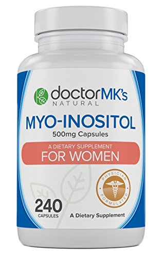 Myo-Inositol for PCOS (240 Count- Value Bottle) by Doctor MK