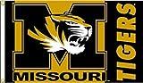 JTD Enterprises NCAA Missouri Tigers Flag, 3 x 5', Black