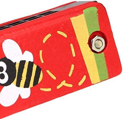 al/éatoire Harmonica color/é 16 trous harmonica tr/émolo enfants instrument de musique jouet /éducatif cadeau pour les enfants